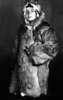 Rohr Angela vor einer Forschungsreise nach Sibirien, 1927 / Privatarchiv Hans Marte, Wien