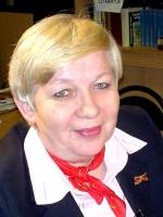 """Galina Woronenkowa (63) wurde Anfang 2016 als """"Verdiente Professorin der Lomonossow-Universität"""" ausgezeichnet. Deutschland vergab ihr 2004 das Verdienstkreuz 1. Klasse / Privat"""