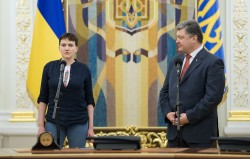 """Sie gibt sich vorerst milde: """"Ich werde nicht meinen Hass und meine Wut an euch weitergeben."""" / RIA Novosti"""