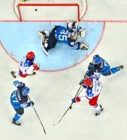 Gol! So traf Russland bei der WM 2014 im gewonnenen Finale gegen Finnland. / RIA Novosti