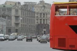Der Charme einer Metropole: Sightseeing-Bus in Moskau / RIA Novosti